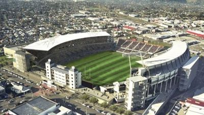 Stadium Christchurch - Новая Зеландия
